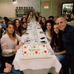 Cena A2 compleanno fisiofrank