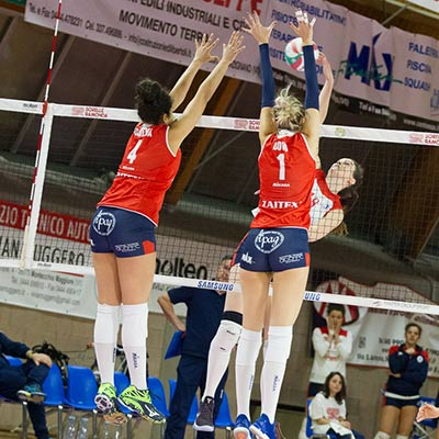 sorelle ramonda verso volley soverato